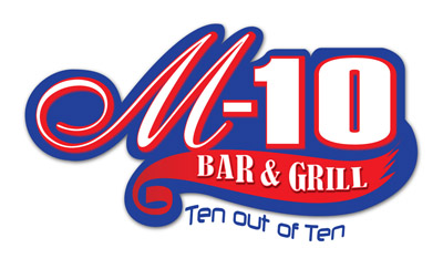 M10 Bar and Grill Logo